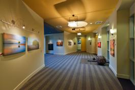 Main Lobby at 2237 Douglas Blvd, Roseville CA W+P Offices